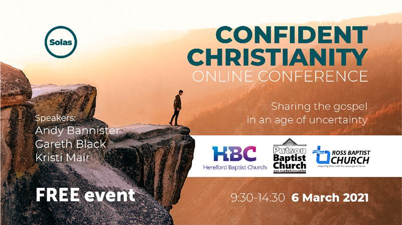 Online Confident Christianity Conference