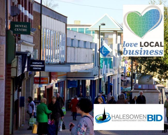 Love Local Business has been launched by the Halesowen & Dudley News - Supported by Halesowen BID