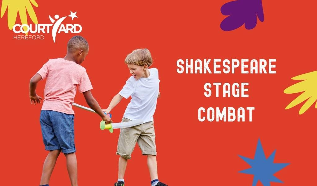 Shakespeare Stage Combat - The Courtyard Facebook Live