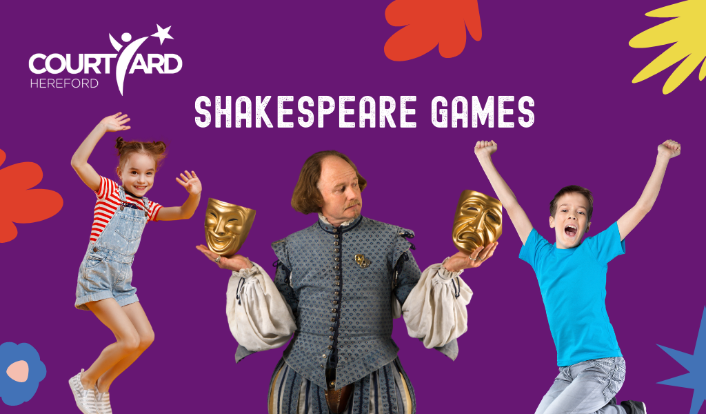Shakespeare Games - The Courtyard Facebook Live