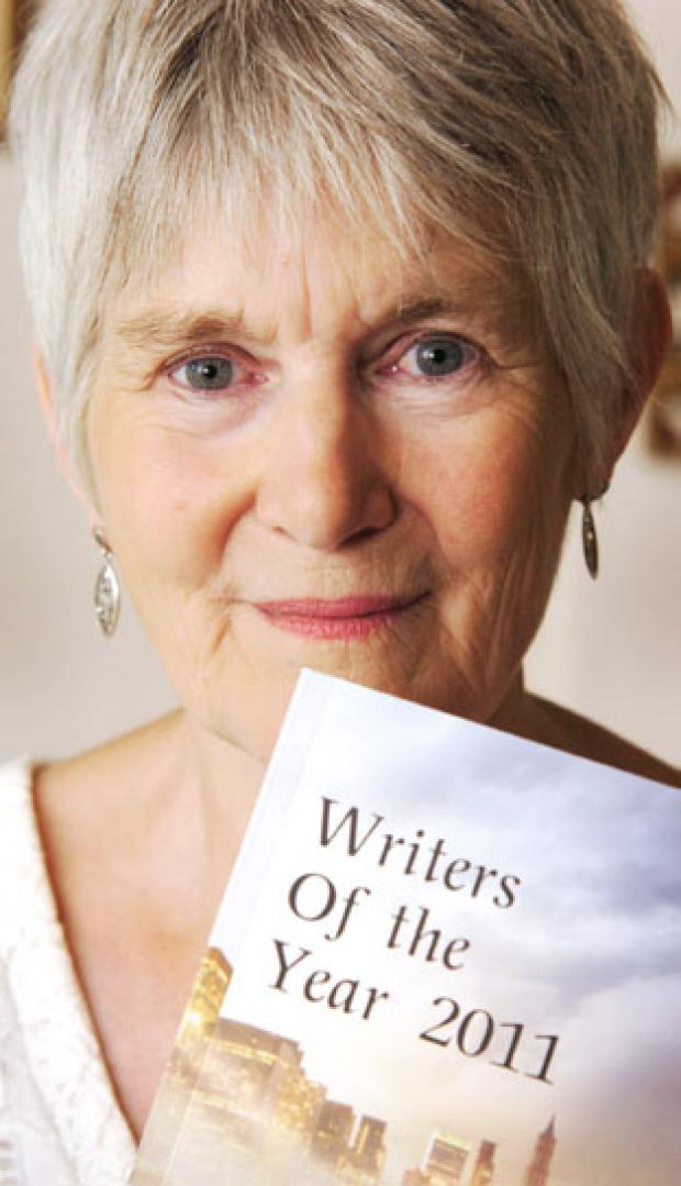 Writer Joan Blundell (To buy: 301159L)