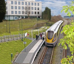 Cradley Heath firm releases new images of proposed light rail link