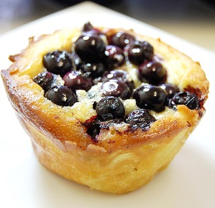 SWEET TREAT: Serve up these delicious apple and blackberry Yorkshire puddings to celebrate the fifth annual Yorkshire pudding day next month.