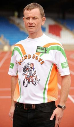 Legendary charity road runner Blind Dave to run in Halesowen