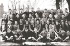 The Colley Lane Primary School class of 1952.