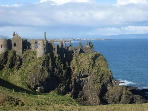 Northen Ireland's dramatic Causeway Coast, steeped in history.