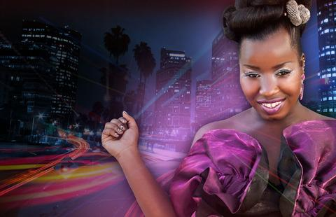 Misha B is on her way to the bright lights of Stourbridge