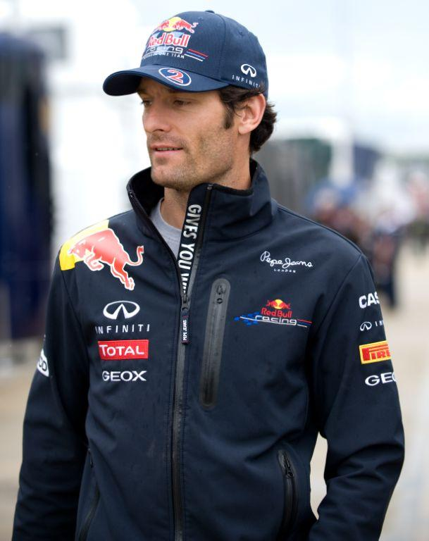 Race Winner Mark Webber By Caig Styles (C)