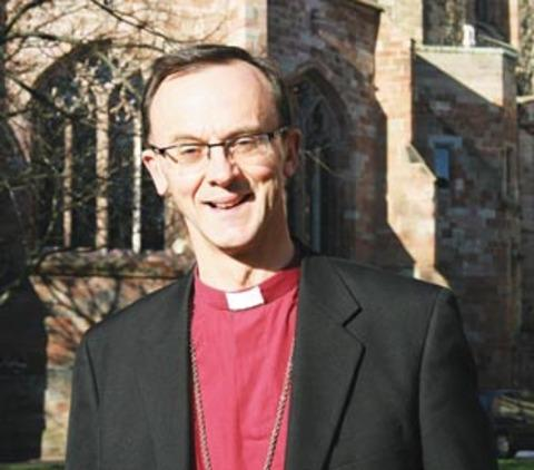 Bishop of Worcester, the Right Reverend Dr John Inge