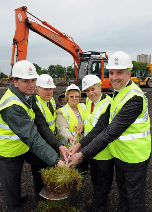 Construction work on delayed Oldbury lifestyle centre finally starts