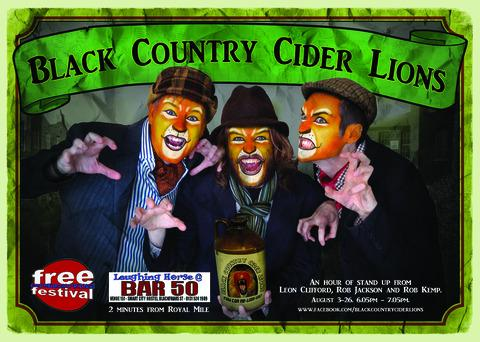 Black Country Cider Lions
