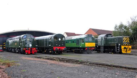 ON TRACK: Preserved vintage diesel engines will step in for steam locomotives under repair at the Severn Valley Railway.