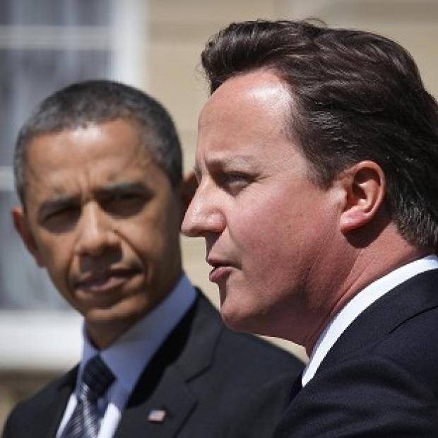 David Cameron and Barack Obama said there was more to do to stop the killing of civilians in Syria