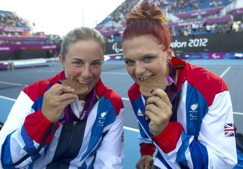 Jordanne (right) and Lucy Shuker