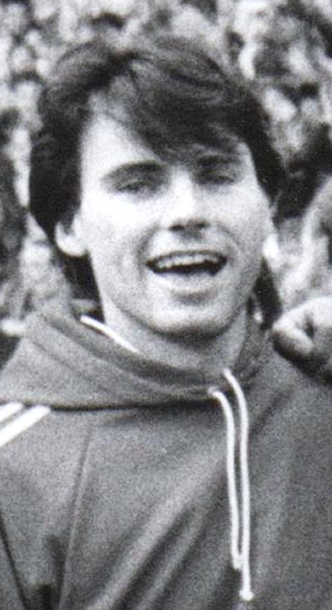 Neil Moore played for Halesowen Town in the 1980s, mainly at right back.