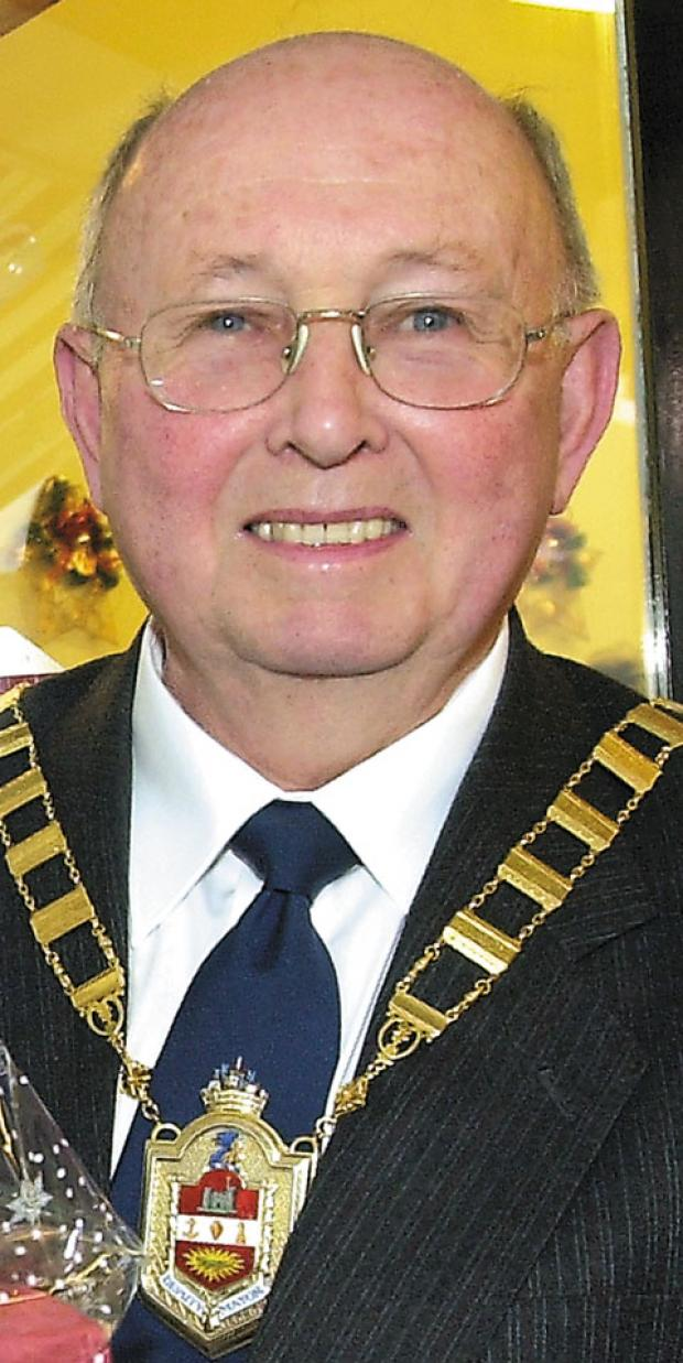 Cllr Malcolm Knowles, who died last week.