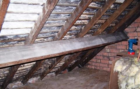 Insulating a loft can be a big deal in cutting energy costs as these before and after pictures show.