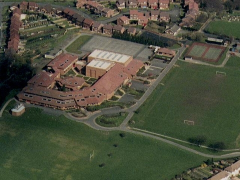 The former Cradley High School site
