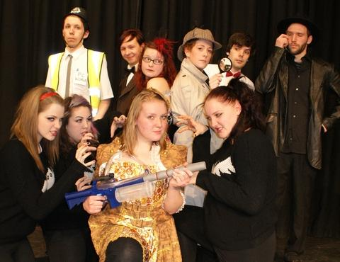 Open Door's performers gearing up for its next show Dracula - The Vampire Strikes Back