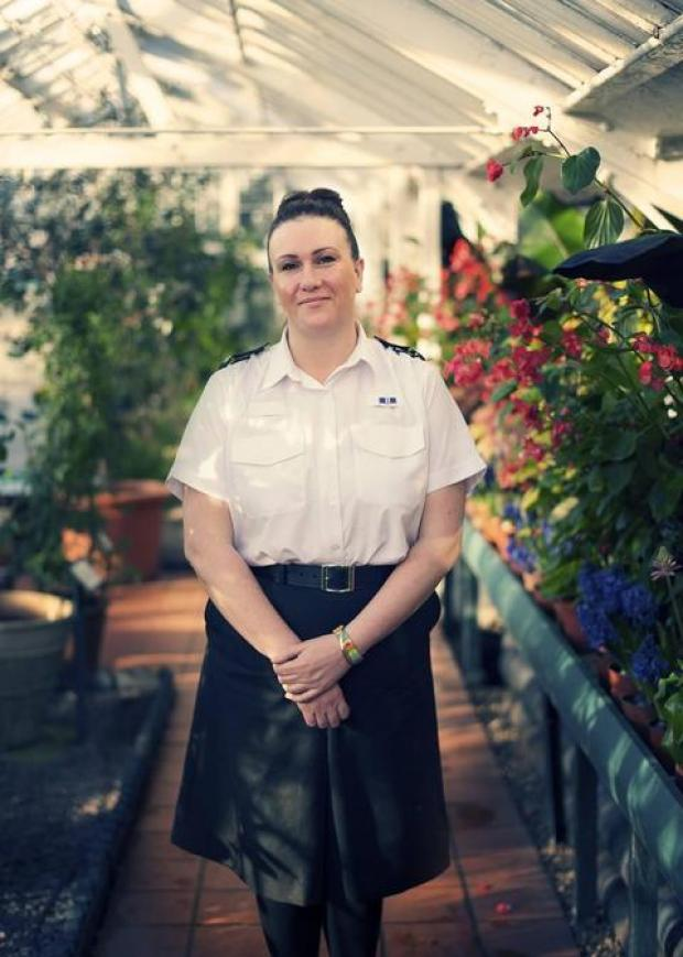 Pc Louise Rushin was verbally and physically abused when she went to the aid of an elderly couple in Oldbury.