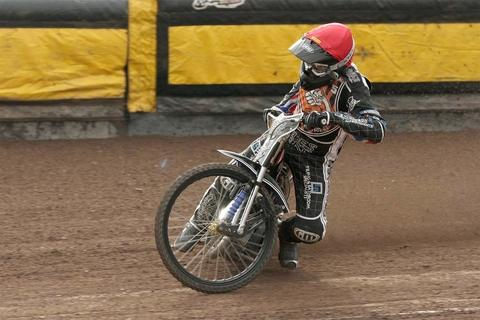 Lewis Blackbird in action for Mildenhall last season. Photo by John Hipkiss.