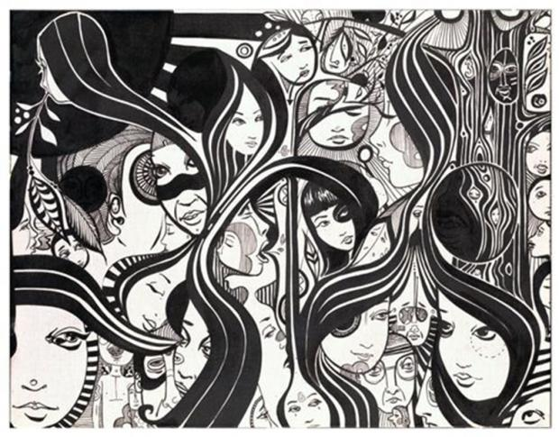 A new commission from Birmingham artist Lucy McLauchlan fo