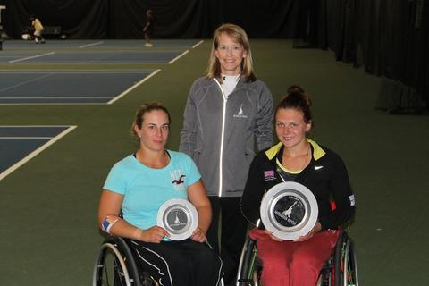 Whiley wins her first ITF singles title
