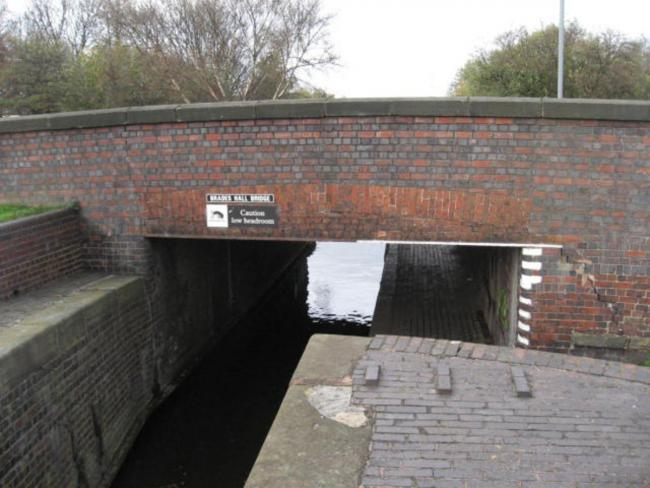 Brades Hall canal bridge