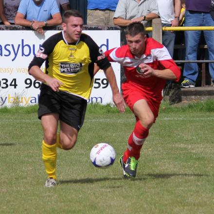 l Action from Black Country Rangers' FA Cup clash against Halesowen Town. Picture: STEVE EVANS