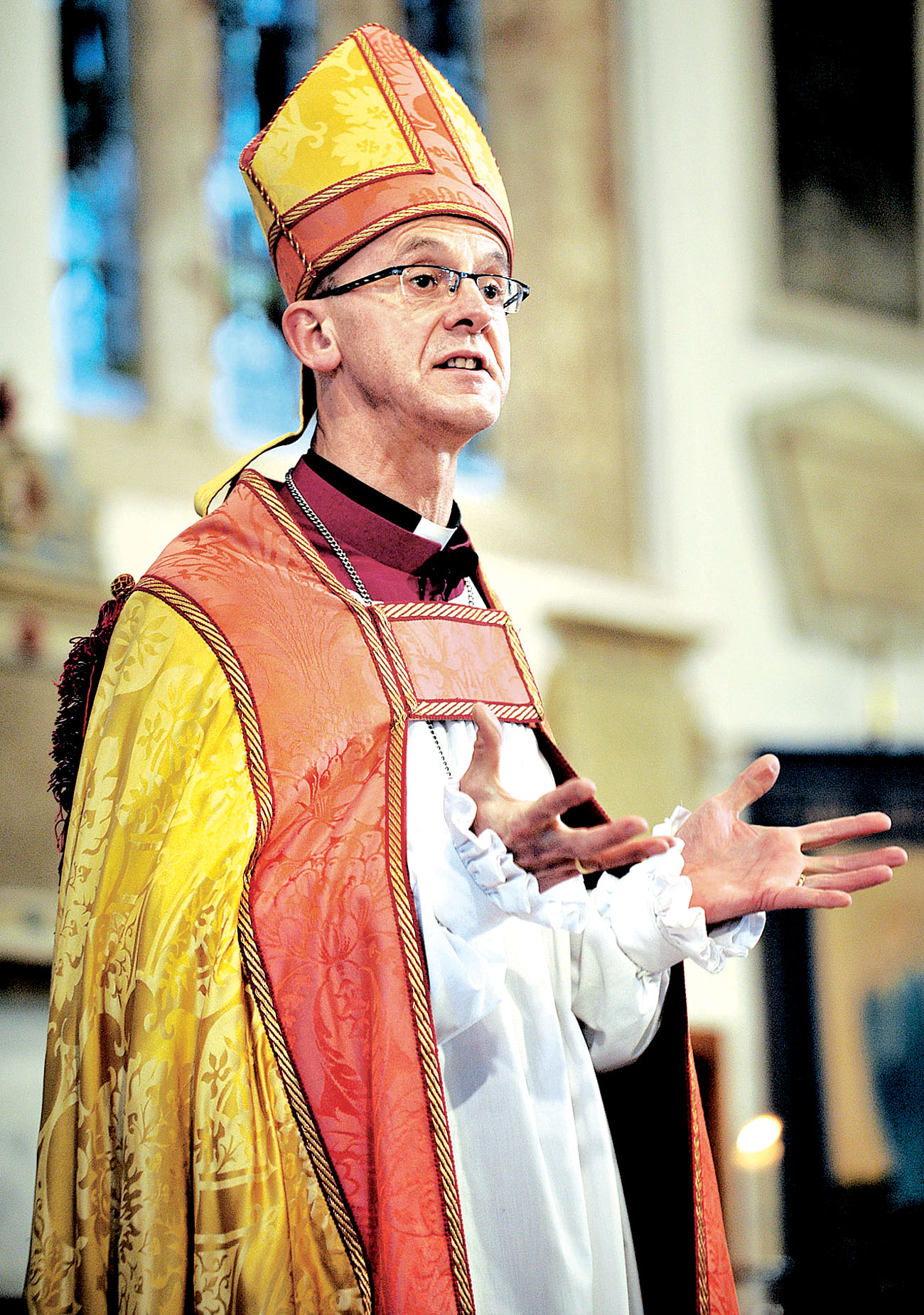 The Bishop of Worcester, Dr John Inge