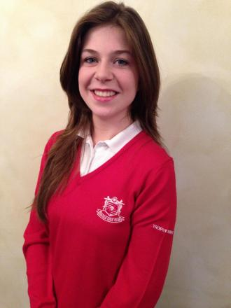 Ellie Lawrence - making  a name for herself in the golfing world