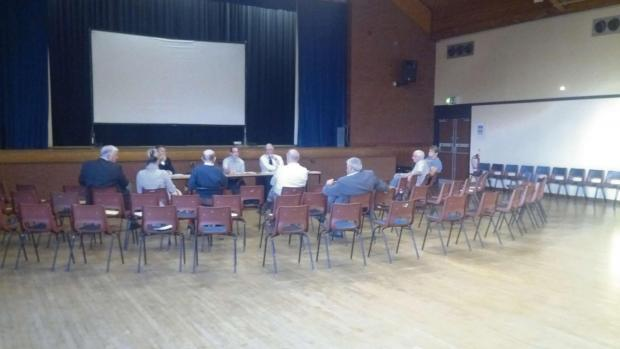Councillors and council employees outnumbered the members of the public at September's Halesowen North and South community forum.