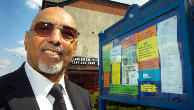Founder of the Blackheath Traders Association Nagi Daya Singh.