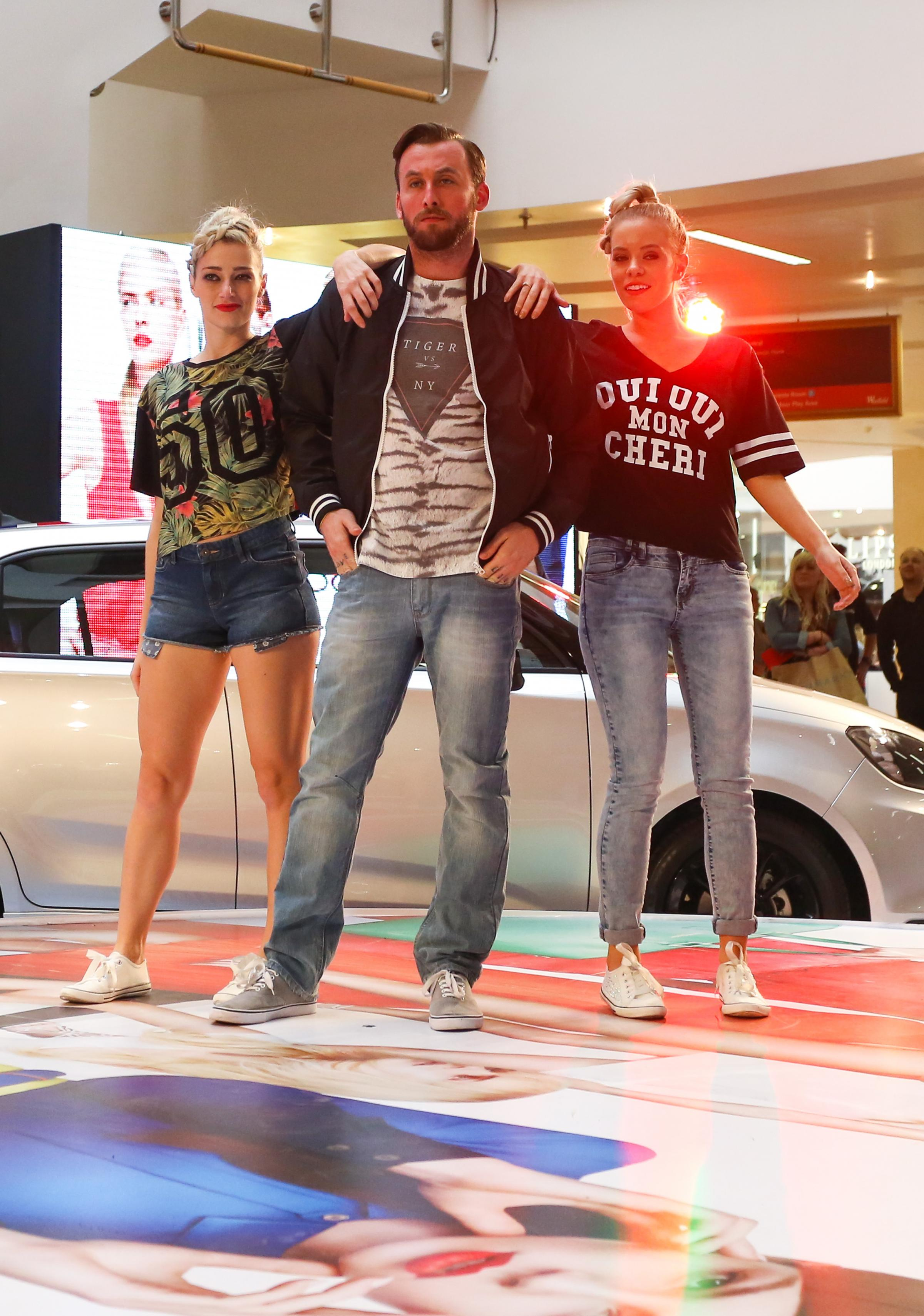 Models showcase new season trends at Merry Hill