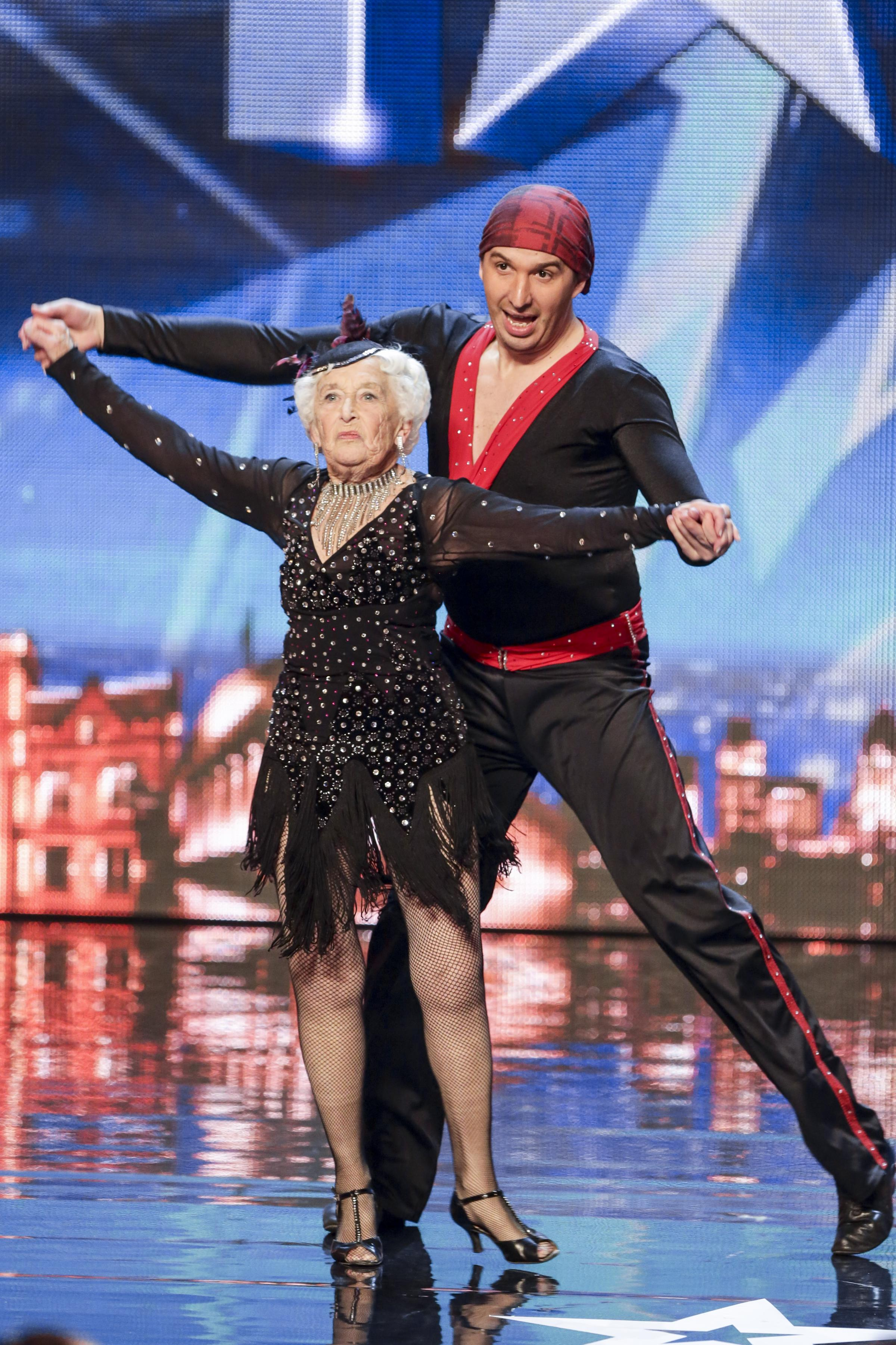 Stourbridge salsa gran Paddy Jones WILL dance in Britain's Got Talent semi-final