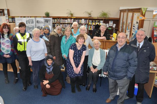 The Friends of Cradley Library celebrate its 75th birthday