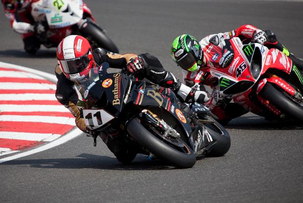 KIngswinford's Michael Rutter in action at Brands Hatch.