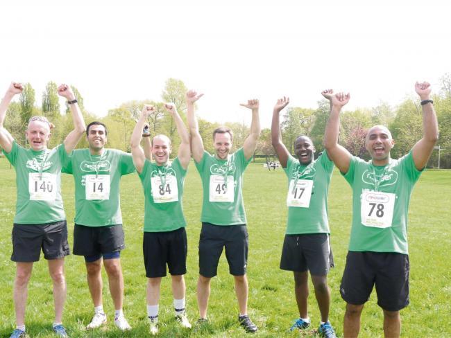 Oldbury Npower employees run together to beat cancer | Halesowen News
