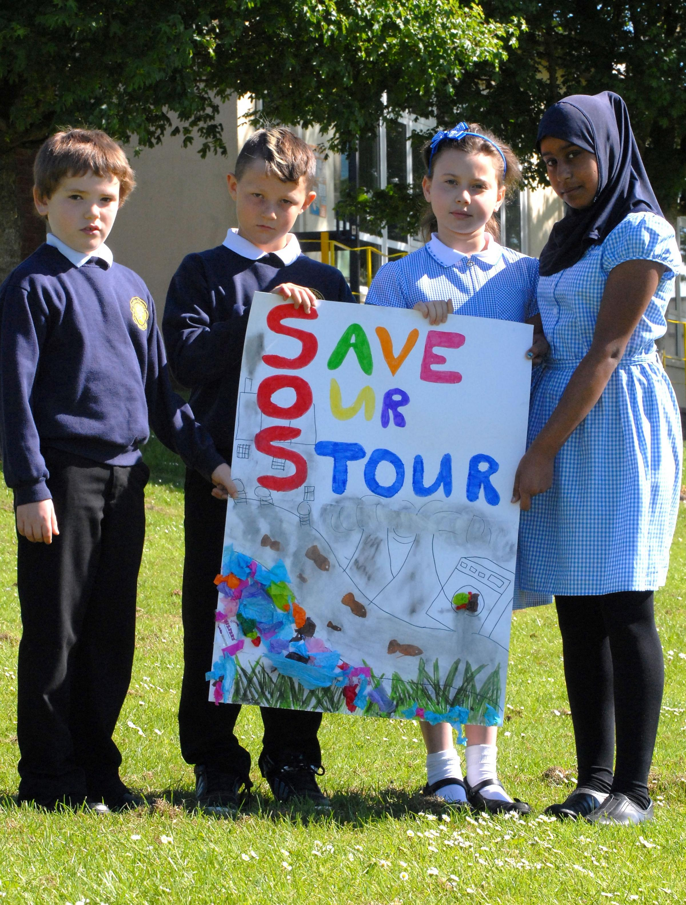 Halesowen primary school pupils vow to tackle pollution in the River Stour
