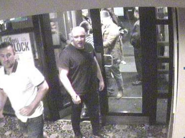 The CCTV image released by police.