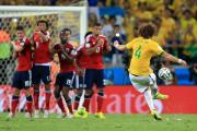 Luiz thunderbolt sends Brazil through to semis - but Neymar ruled out of World Cup