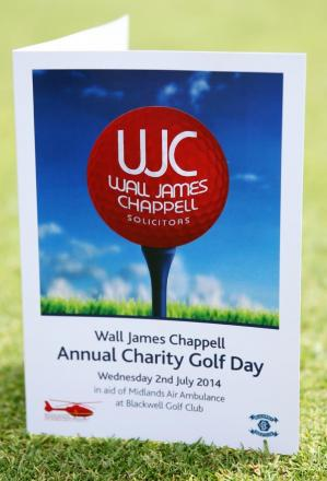 Golf day raises £700 for Midlands Air Ambulance