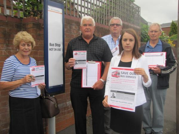Campaigners are demanding the return of the 205 and 297