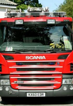 Firefighters battle overnight blaze in Rowley Regis