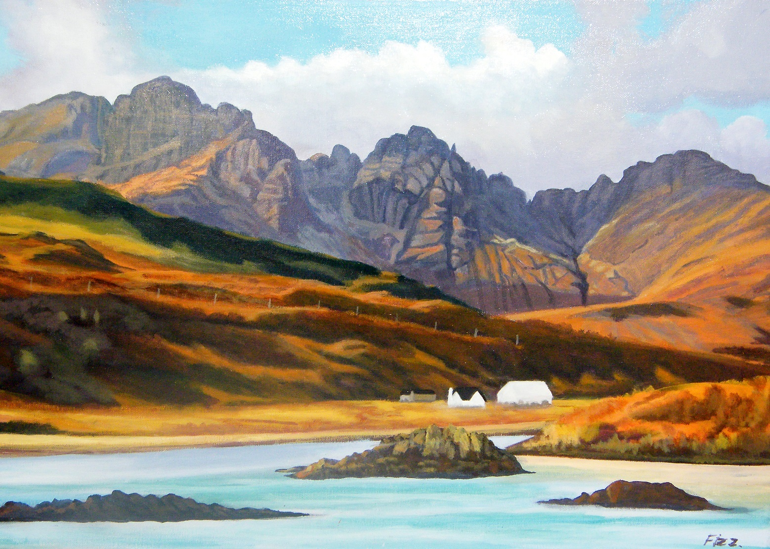 Previous winner: Blue Hills of Skye by William Fizzell.