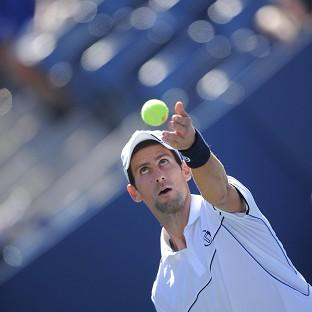 Novak Djokovic cruised into the third round of the US Open