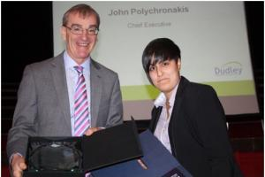Dudley trainee takes second place in national student essay competition