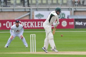 Daryl Mitchell unbeaten on ton as Worcestershire finish day on 228-5