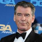 Halesowen News: Pierce Brosnan was stopped with a knife in his hand luggage (AP)