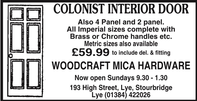 WOODCRAFT DIY & HARDWARE